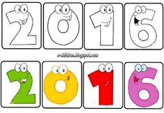 New Year's Crafts, Happy New Year, Playing Cards, School, Winter, Christmas, Picasso, Winter Time, Xmas