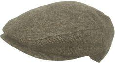 Scala Tweed Ivy Cap Wool Blend Driver Hat Classic 5 Point Newsboy