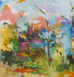 """Renee Zangara; Oil 2012 Painting """"Firth"""""""