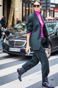 It's time to start thinking about your 2018 wardrobe, so we asked Net-a-Porter which trend fashion girls will start wearing first. Get the scoop here.