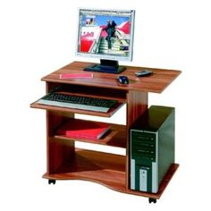 Small Computer Desk Small Computer Table Laptop Desk On Wheels Computer Desk Mobile Computer Desk, Office Computer Desk, Small Computer, Home Office Furniture Desk, Home Office Desks, Office Table, Laptop Table, Laptop Desk, Evergreen House