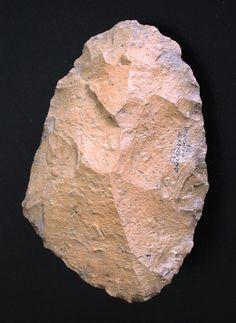 bifacial cleaver found in Ouarzazate