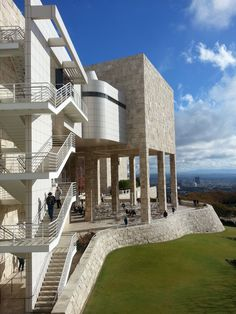 Los Angeles, California - The Getty Museum. The Getty encompasses beautiful grounds, great architecture, and art.(2448×3264)