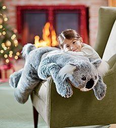 (For Reagans list) Plow and Hearth - oversized koala body pillow $29.99