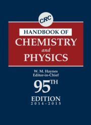 NEW EDITION - Publishing June 2014. CRC Handbook of #Chemistry and #Physics, 95th Edition by William M. Haynes - #CRCPress #Book
