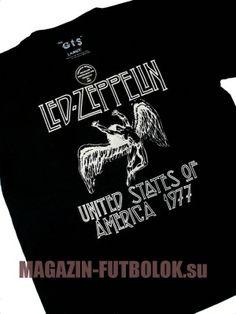 классическая супер футболка Led Zeppelin Swan Song
