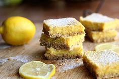 Clean Honey Lemon Bars | Oatmeal with a Fork