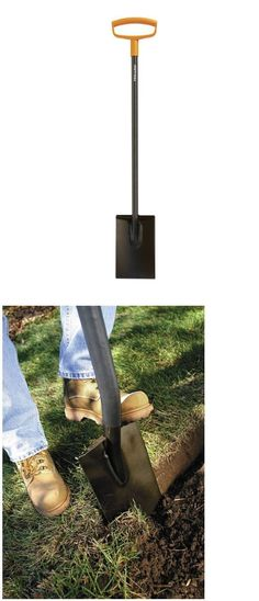 Trowels 122907: Shovels And Spades Garden Spade Shovel Edging Cutting Trench D Handle 46 Steel -> BUY IT NOW ONLY: $48.03 on eBay!