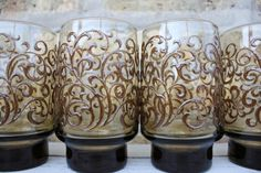 vintage celluloid swirl martini glasses   Add it to your favorites to revisit it later.