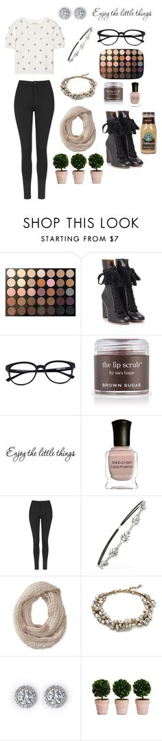 """Belle"" by opheliairis ❤ liked on Polyvore featuring Morphe, Chloé, Sara Happ, Deborah Lippmann, Topshop, Forever 21, Aéropostale, J.Crew, Alice + Olivia and women's clothing"