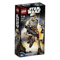 Chollo en Amazon España: Juego de construcción LEGO Star Wars soldado de asalto Scarif, 15€, rebaja 44% precio de venta recomendado, precio mínimo histórico