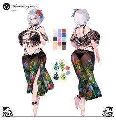 Female Character Concept, Female Character Design, Character Design Inspiration, Character Art, Anime Girl Hot, Kawaii Anime Girl, Anime Art Girl, Manga Art, Fantasy Art Women