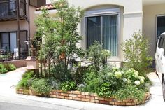 Organic Gardening Hacks – Getting Your Garden To Grow Garden Paths, Garden Landscaping, Small Courtyards, Natural Garden, Green Garden, Green Flowers, Flower Beds, Garden Styles, Organic Gardening