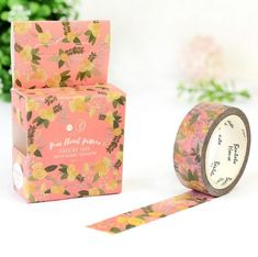 Flower Garden Masking Tape