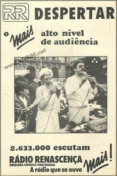 Despertar (Radio Renascença)  Anuncio publicado na revista Musica&Som http://viva80.pt/