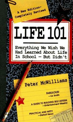 Bestseller Books Online Life 101: Everything We Wish We Had Learned about Life in School--But Didn't (Life 101 Series) Peter McWilliams $7.95  - http://www.ebooknetworking.net/books_detail-0931580781.html
