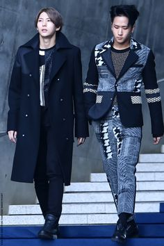 Leo and Ravi - VIXX - that outfit is crazy Ravi lol