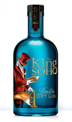 "King of Soho London Dry Gin, made by Thames Distillers, is the brainchild of Raymond's son Howard and was created through his company West End Drinks.  Paul Raymond opened the UK's first strip club in 1958 and launched soft porn magazines Men Only and Escort, leading him to be dubbed the ""King of Soho."""