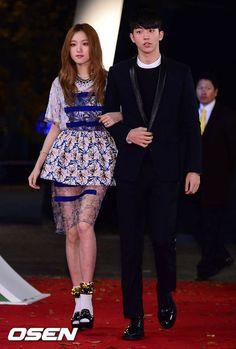 Lee Sung Kyung with Nam Joo Hyuk Melon Music Awards