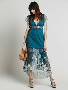 Free People Under The Moonlight Maxi at Free People Clothing Boutique