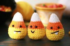 Diy Crochet Patterns, Halloween Crochet Patterns, Amigurumi Patterns, Knit And Crochet Now, Easy Crochet, Crochet Yarn, Crochet Stitches, Halloween Projects, Easy Halloween