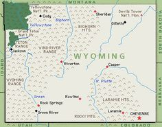20 Fun & Interesting Facts about Wyoming.  Good to include in the road trip activities bag for the girls.
