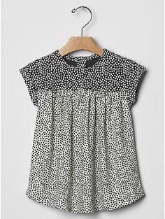 Mix-dot dress