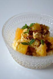 Viikonloppukokki retrokokkina: appelsiiniriisi Curry, Ethnic Recipes, Food, Curries, Eten, Meals, Diet