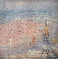 Philip Wilson Steer, 'Figures on the Beach, Walberswick' circa 1888-9