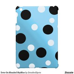 Dots On Blended SkyBlue iPad Mini Case