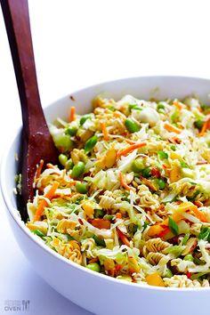nice Crunchy Asian Ramen Noodle Salad...