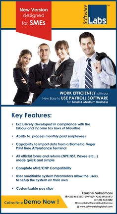 Advanced Software Labs Ltd - Payroll & Human Resource Management System. Tel: 464 3677