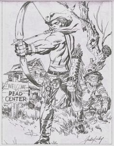 Bullseye Pencils - Jack Kirby