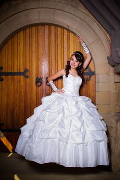 I really liking the scrunchy dress thing for my quince dress!!(: But probably not this fluffy:P