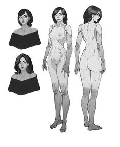 ArtStation - Stufff, Ivan Yakushev Character Concept, Character Art, Concept Art, Fantasy Characters, Female Characters, Ligne Claire, Cyberpunk Art, Character Design References, Sci Fi Art