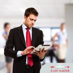 Make a mark for yourself and garner the maximum number of #sales with the aid of goal-oriented #data lists. - C-Level Executives Email - E-List Hunter https://goo.gl/w5v2Wn