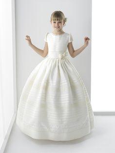 Silvana vestido de comunión Rosa Clara