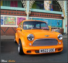 . Classic Mini, Classic Cars, Minis, Morris Minor, Mini Coopers, Smart Car, When I Grow Up, Motorbikes, Wheels