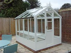 green houses | ll Swallow greenhouses are made from pressure treated green tint ...