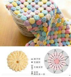 Inspiração... ✂️  Veja mais aqui ➡️ www.artecomquiane.com -- compartilhe com uma amiga especial!  ❤️ ❤️ ❤️ ❤️#crochet crochê #artesanato #colcha #artesanal #artesanales #diy #diy #diyhome #amor #donadecasa #arteemfoco #artesã #artesao #crocheting #crocheteira