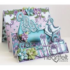 Heartfelt Creations - Sleigh Step Card Project