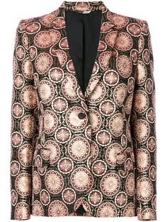 Shop Ps By Paul Smith patterned blazer jacket