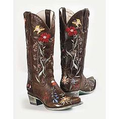 Cowgirl Boots/ Found these boots in Florida they were amazing, wish I would've bought them!
