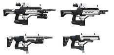 ArtStation - Destiny: AR4 Fusion Rifle iteration, Isaac Hannaford
