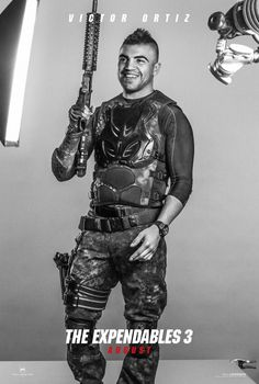 The Expendables 3 - Victor Ortiz - 8.15.14