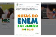 ÍNDIOS POTIGUARA DA PARAÍBA EM FOCO: Notas do Enem serão divulgadas no dia 8 de janeiro...