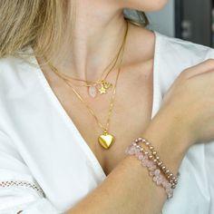 #layerednecklaces #layeredbracelets #gold #boho #dainty #long #choker #pearl #gemstone #handmade #zodiac #heartlocket