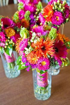 pink and orange bouquet - Bing Images