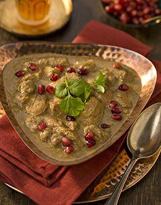 Persian Chicken Stew with Walnut & Honey Sauce   StyleNest  substitute tofu for chicken