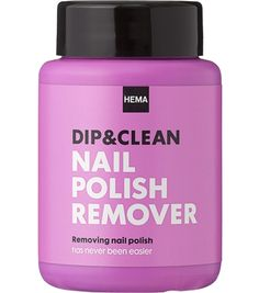 HEMA dip & clean nailpolish remover